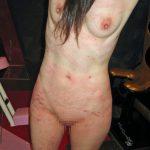 BDSM video whipping Whip marks Bump 鞭痕と瘤